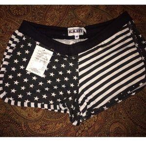 Pants - USA american fourth of july shorts
